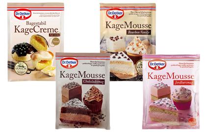 Kagecreme / kagemousse