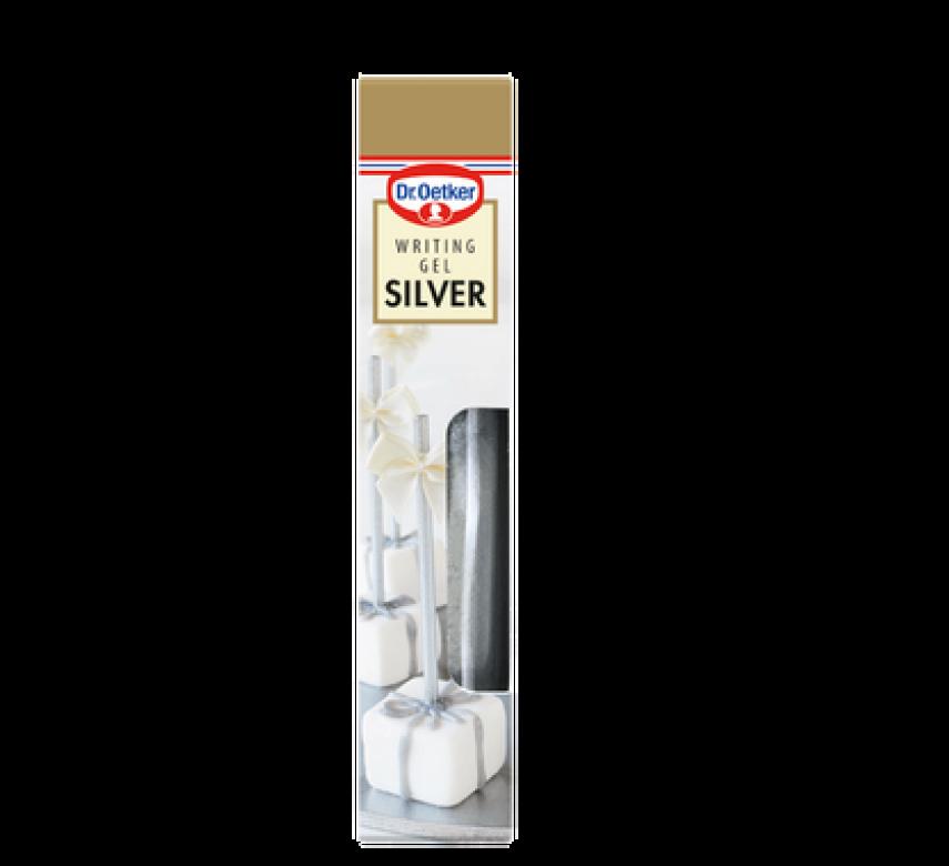 Writing Gel Silver, Dr. Oetker