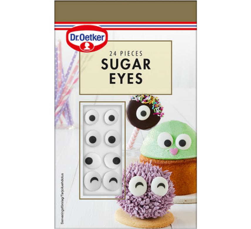 Sugar eyes, Dr. Oetker