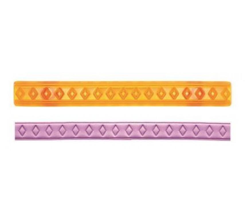Ribbon Cutters (Hearts & Diamonds Cutters) - Set of 2