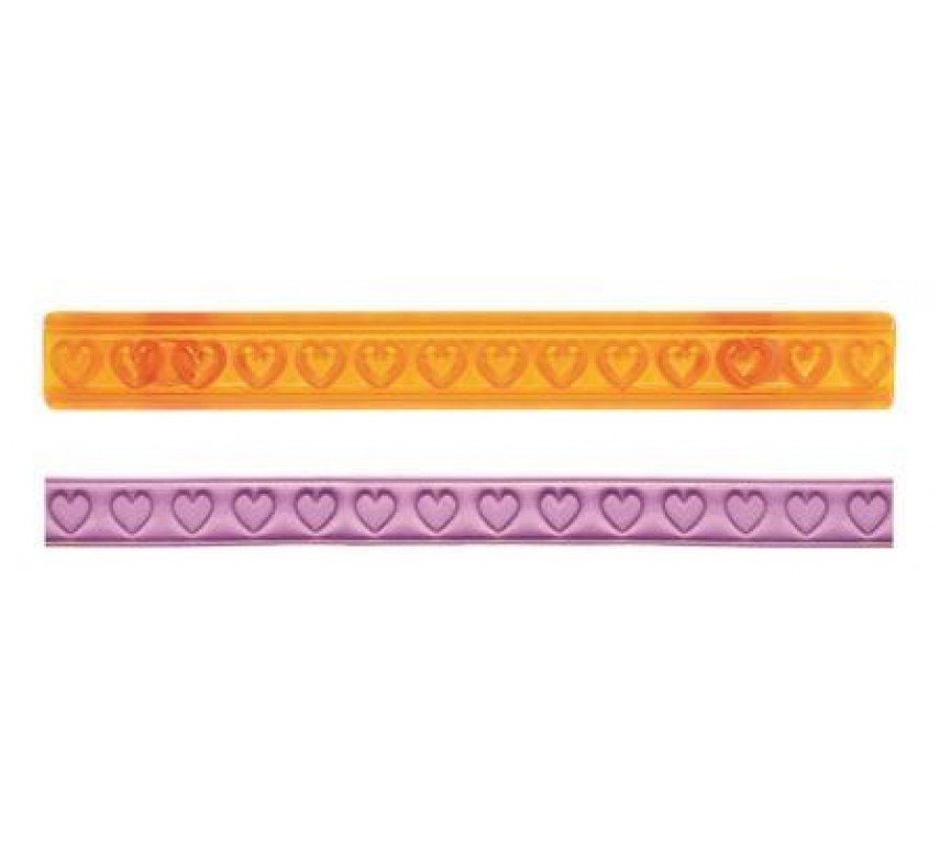 Ribbon Cutters (Hearts and Diamonds Cutters) Set of 2-0