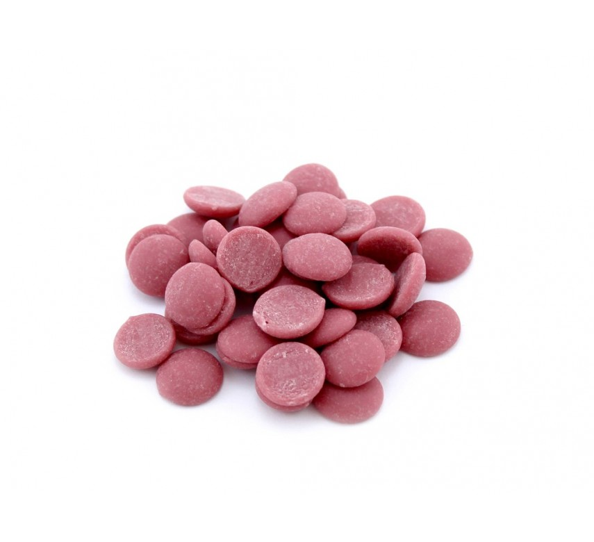 Chokolade, Ruby, 47,3%, Callebaut RB1, 500g.