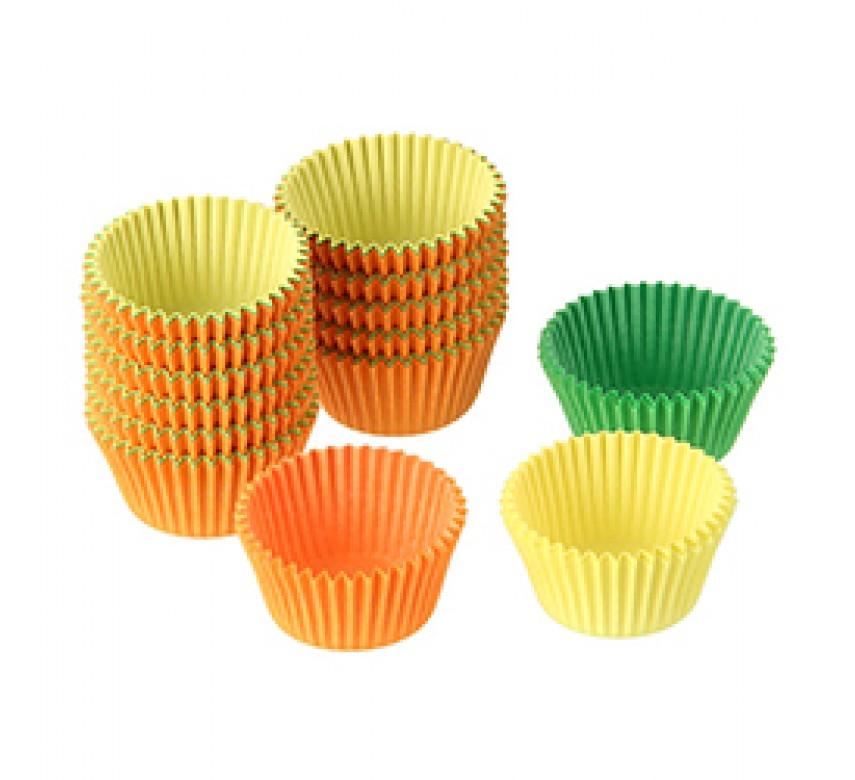 Muffinsforme, blandede farver, 180 stk, 3 cm, Dr. Oetker