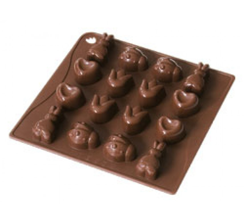 Chokoladeform 16 stk, Dr. Oetker