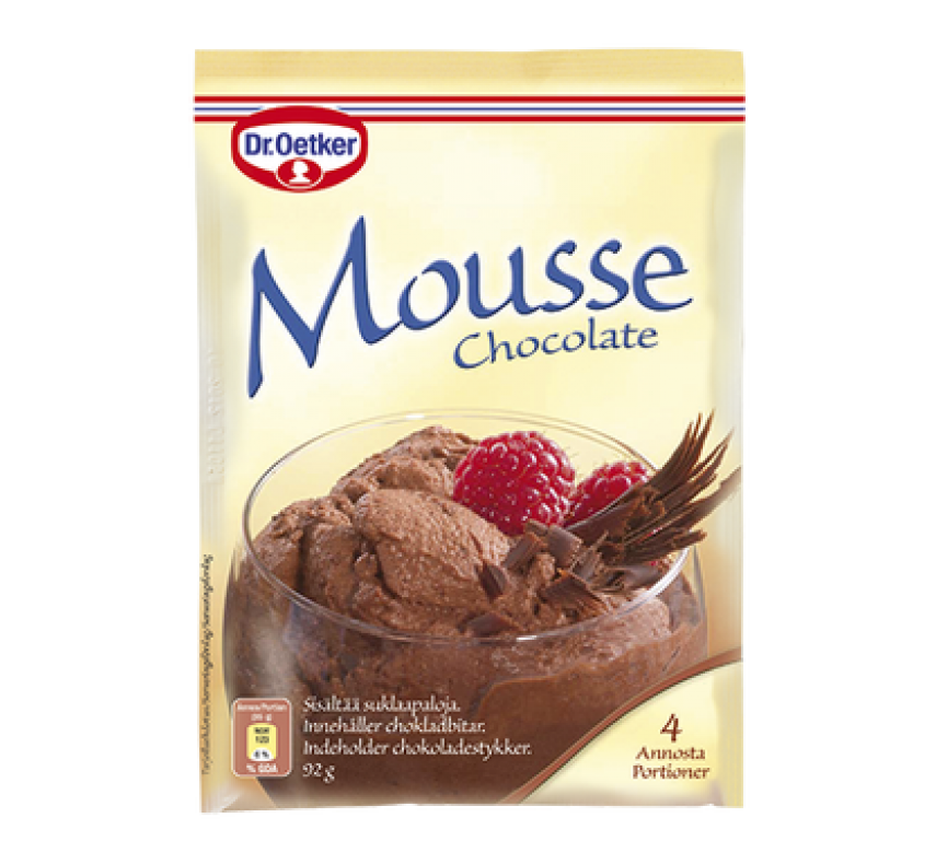 Mousse Chocolate, Dr. Oetker