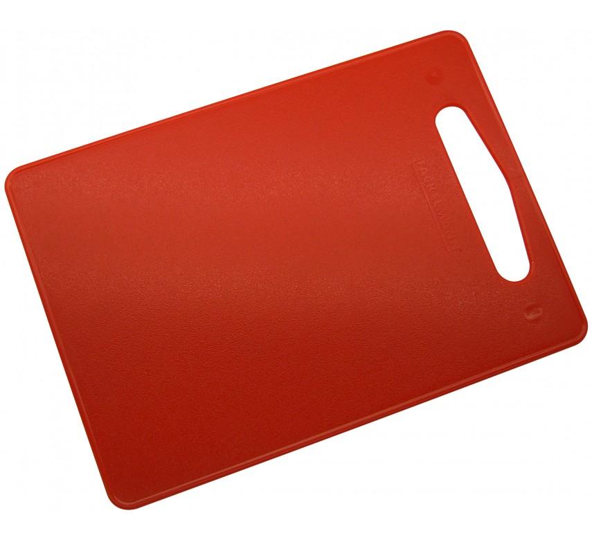 Skærebræt, 34 x 24 cm, rød, LLDPE