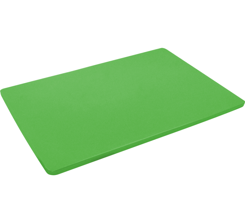 Skærebræt, grøn, HACCP