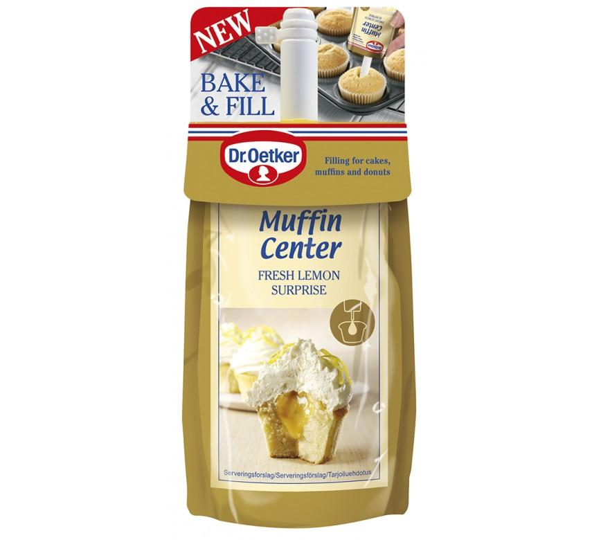 Dr. Oetker Muffin Center Fresh Lemon Surprise*