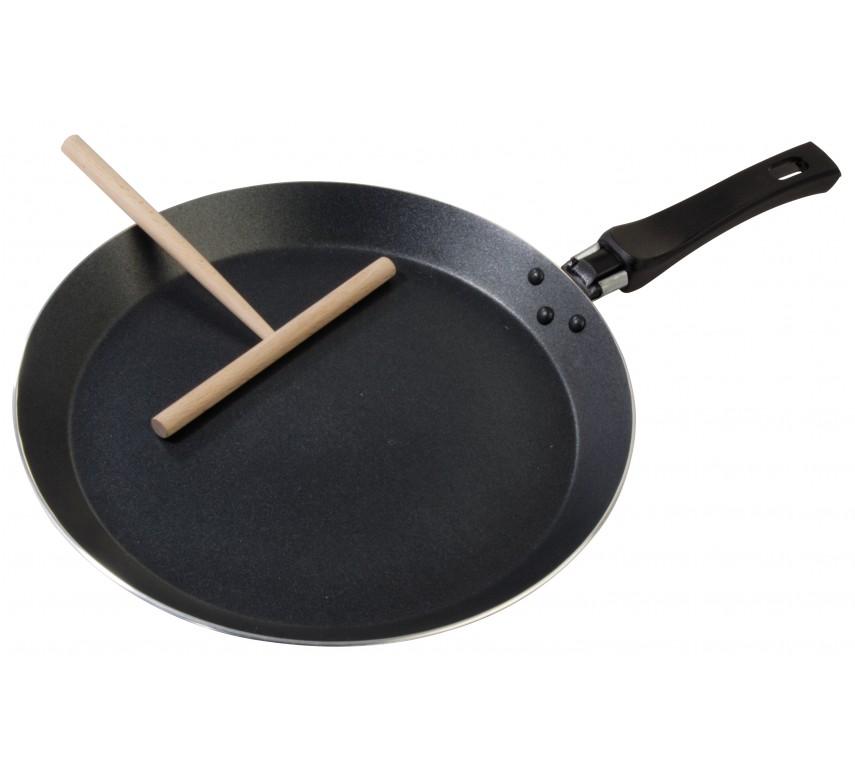 Pandekagepande med redskab