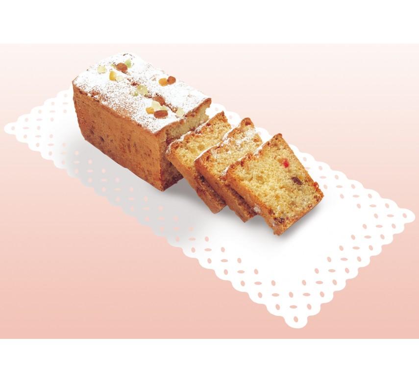 Kage /tærtepapir, rektangulær, hvid, 15 stk.-0
