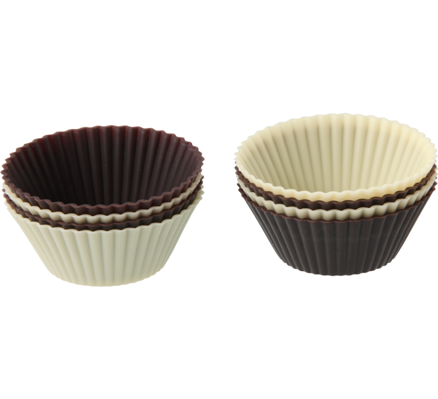Muffinsforme, silikone, 8 stk., Zenker