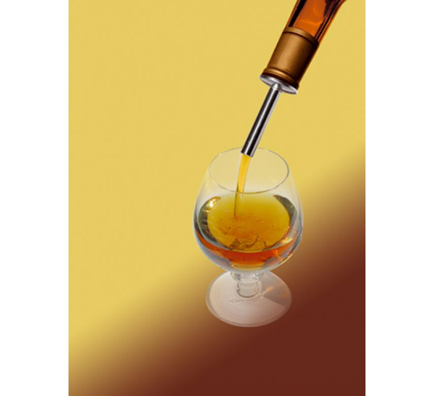 Skænkeprop til olie eddikeflasker, 2 stk.-0