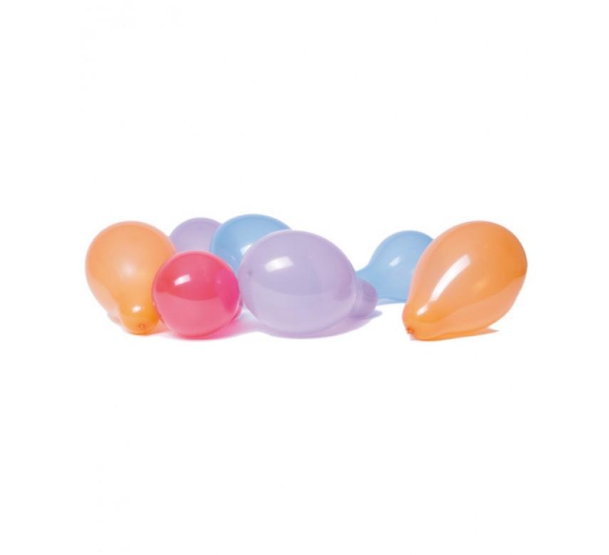 Balloner latex alm. form blandede farver 15 stk.