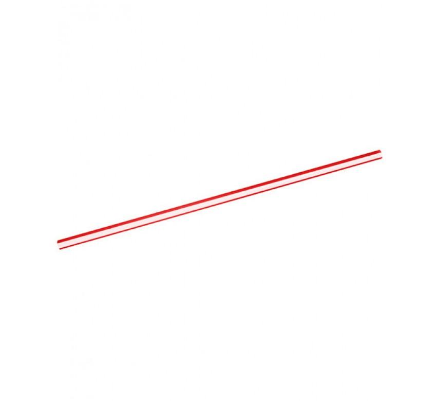 Sugerør jumbo 250mm ø 5 rød hvid stribet 135 stk.