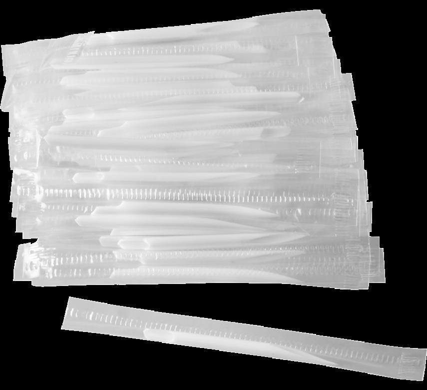 Tandstikkere, 50 stk, hvid-0