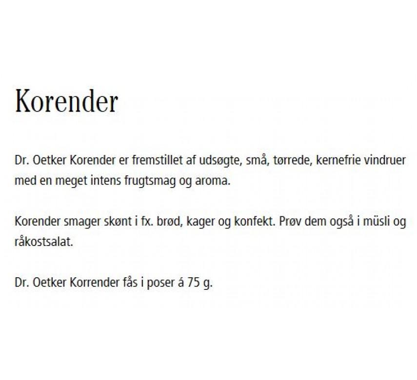 Korender, Dr. Oetker-0