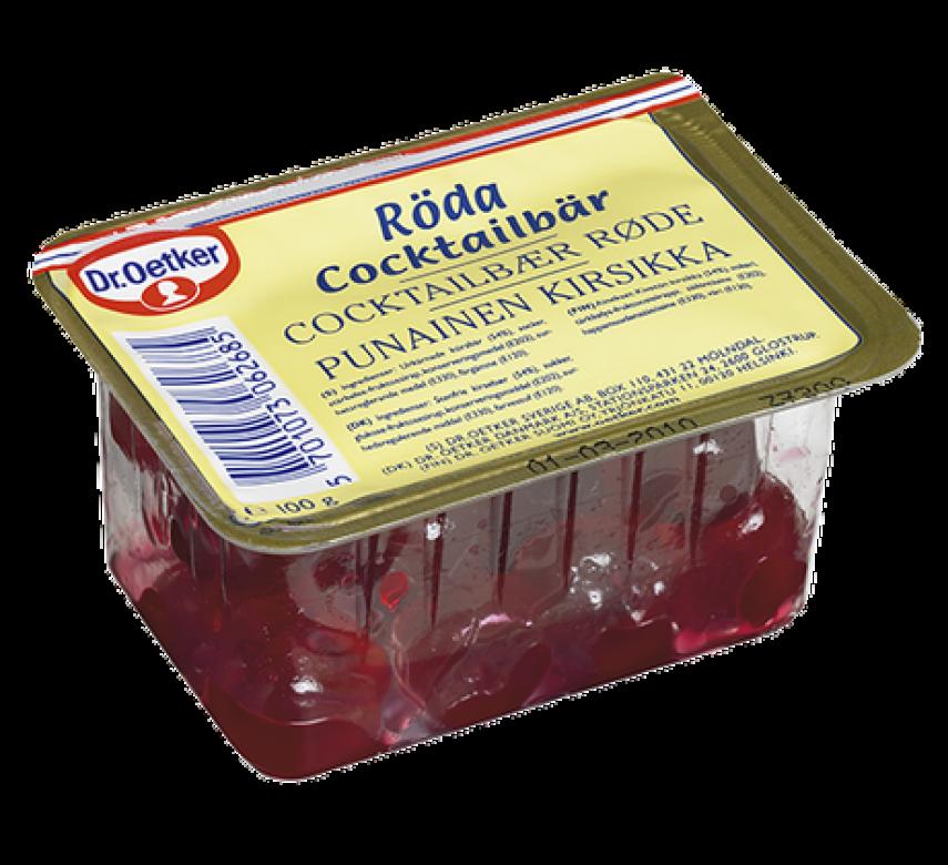 Dr. Oetker Røde Cocktailbær*