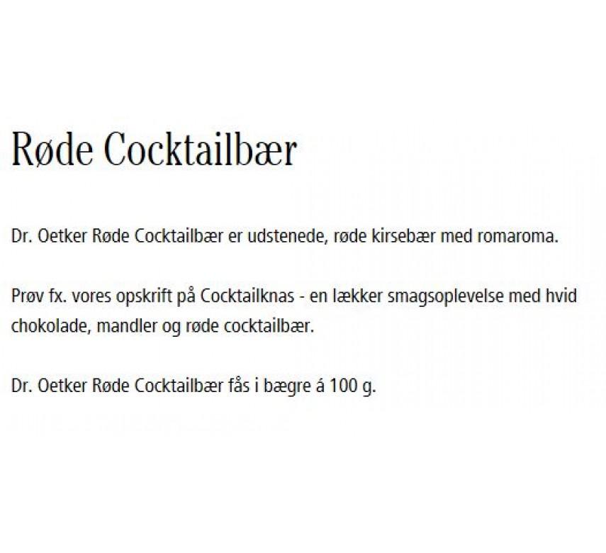 Dr. Oetker Røde Cocktailbær*-0