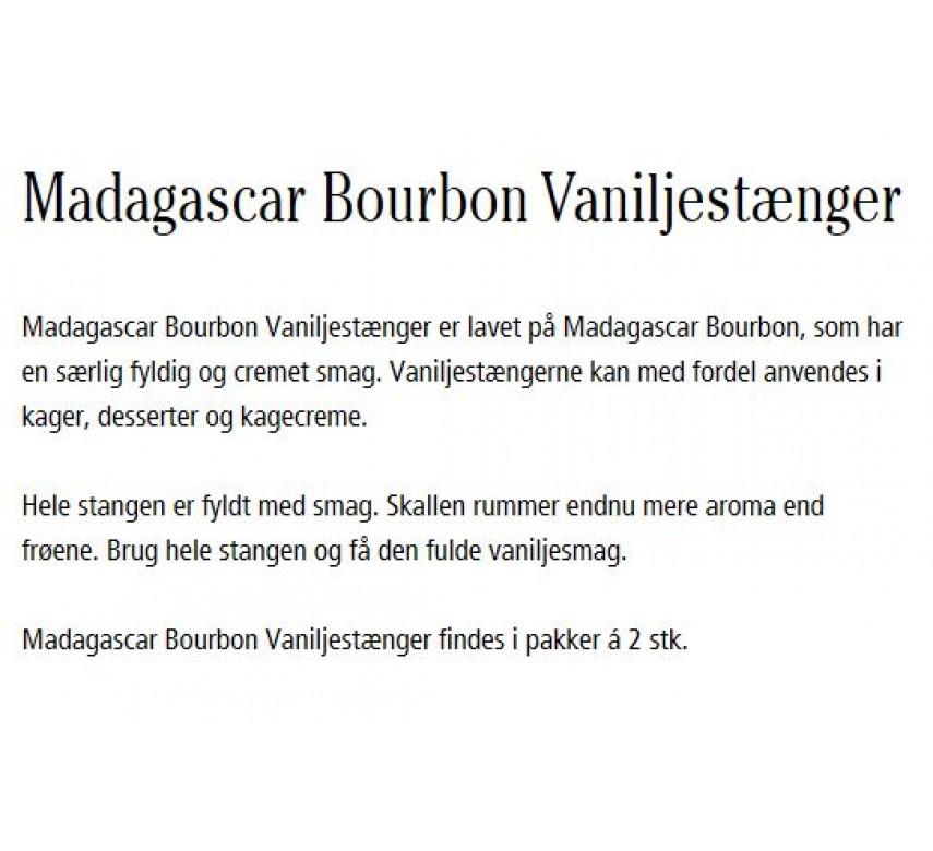 Dr. Oetker Madagascar Bourbon Vaniljestænger-0