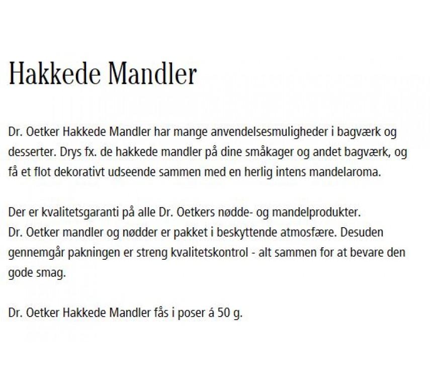 Mandler, hakkede, Dr. Oetker.-00