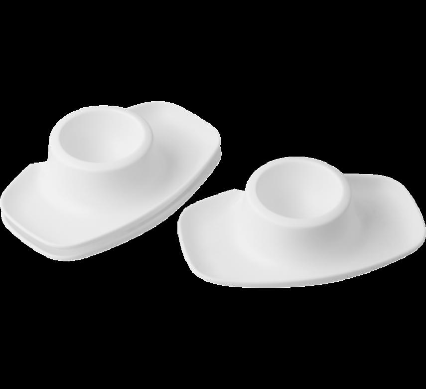 Æggebægre, 2 stk., hvid, PROBUS