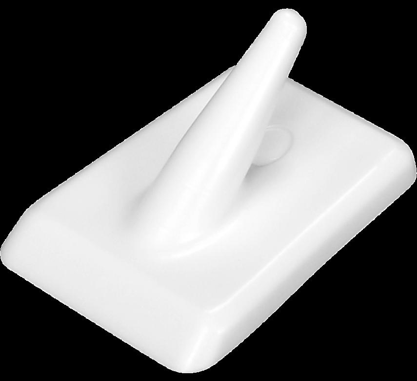 Kroge, rektangulære, 2. stk., hvid, PROBUS*