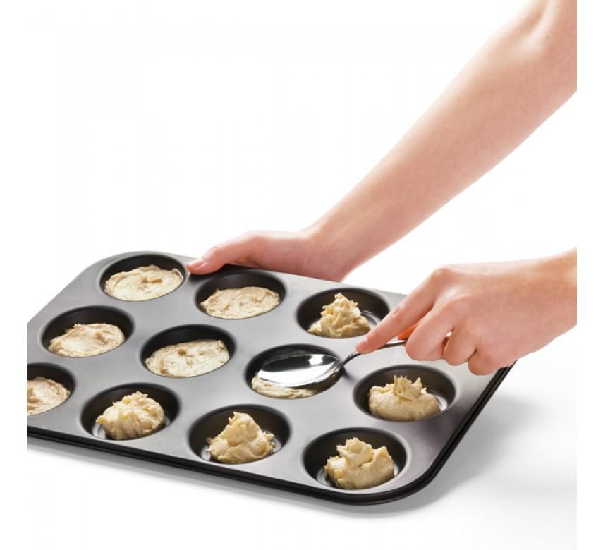 Macarons bageplade. 12 huller, Zenker