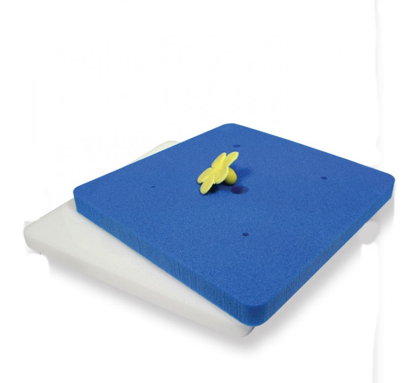 Mexican & Flower Foam Pads Set/2