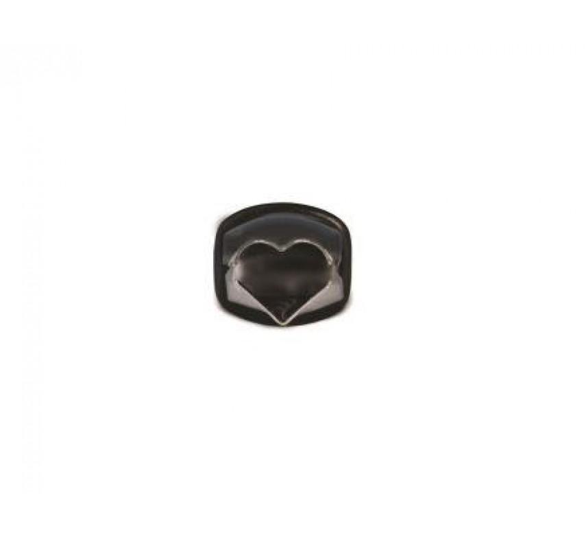 "Heart Shape Plain Crimper (1/2"")"