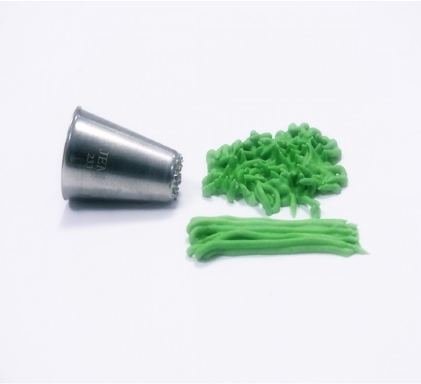 JEM tylle, lille, græs/hår 233