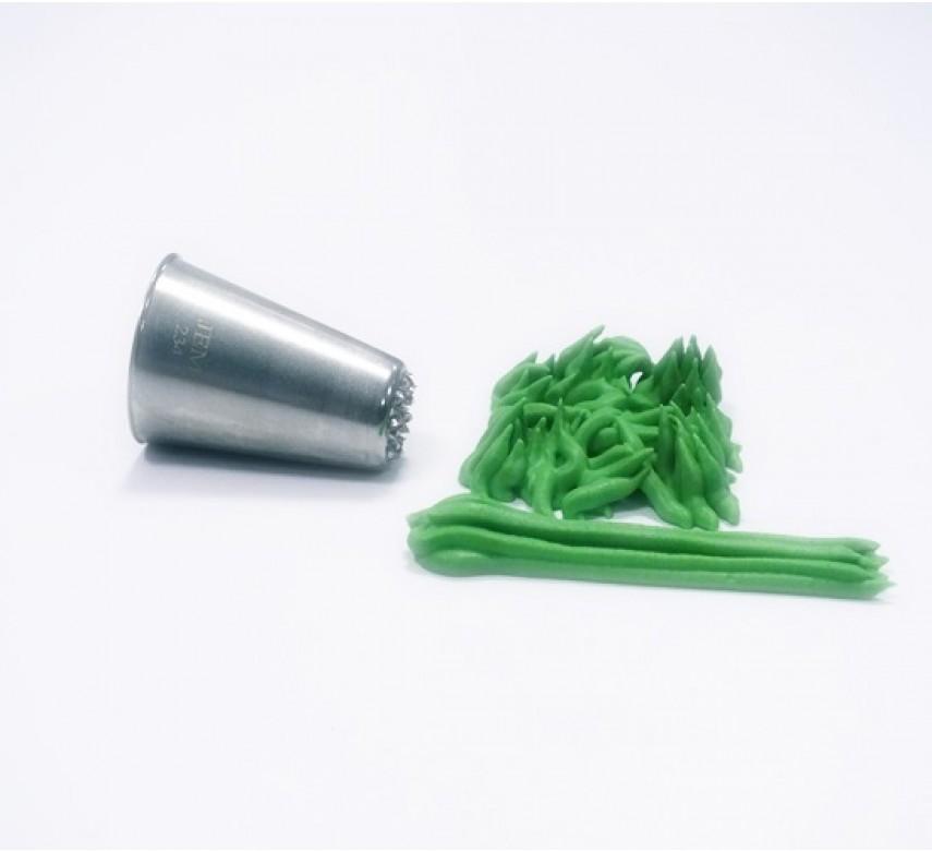 JEM tylle, stor, græs/hår 234