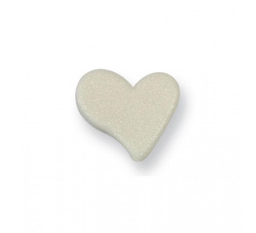 Small Pearl Heart (6/Pk)