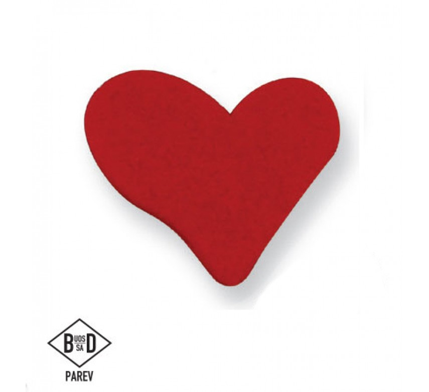 Large Red Heart (6/Pk)