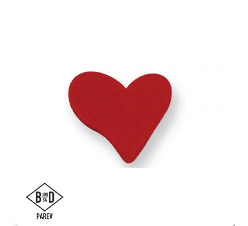 Small Red Heart (6/Pk)