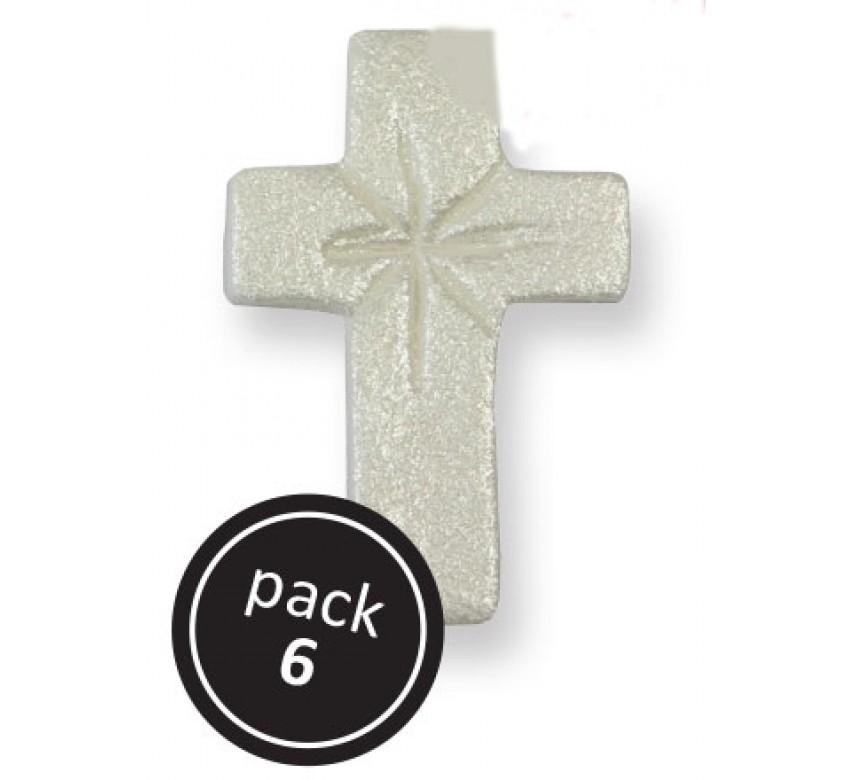 Pearl Cross (6/Pk)