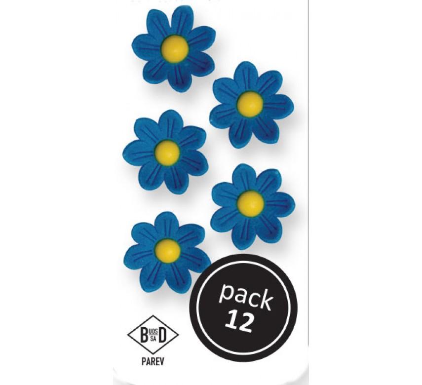 Blue Daisies (12/Pk)