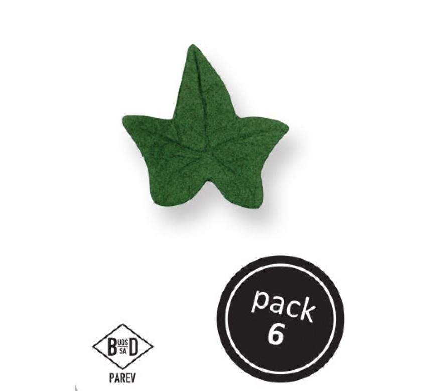 Small Green Ivy Leaves (6/Pk)