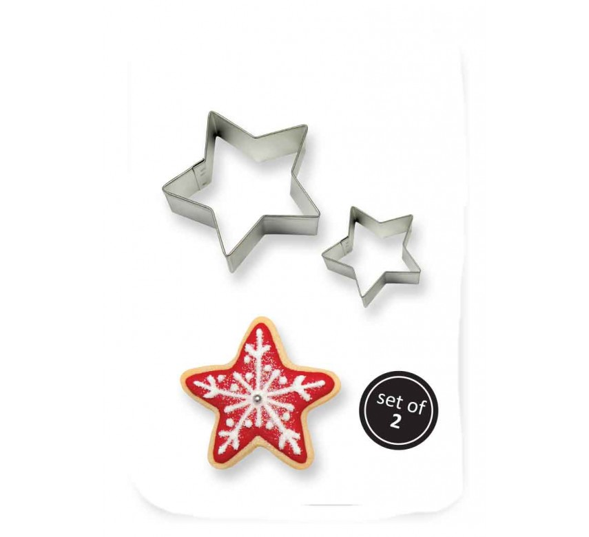 Cookie & Cake Star Cutter (Set/2)