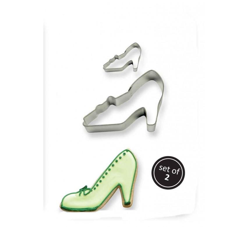 Kageudstikker, højhælede sko, 2 stk., PME