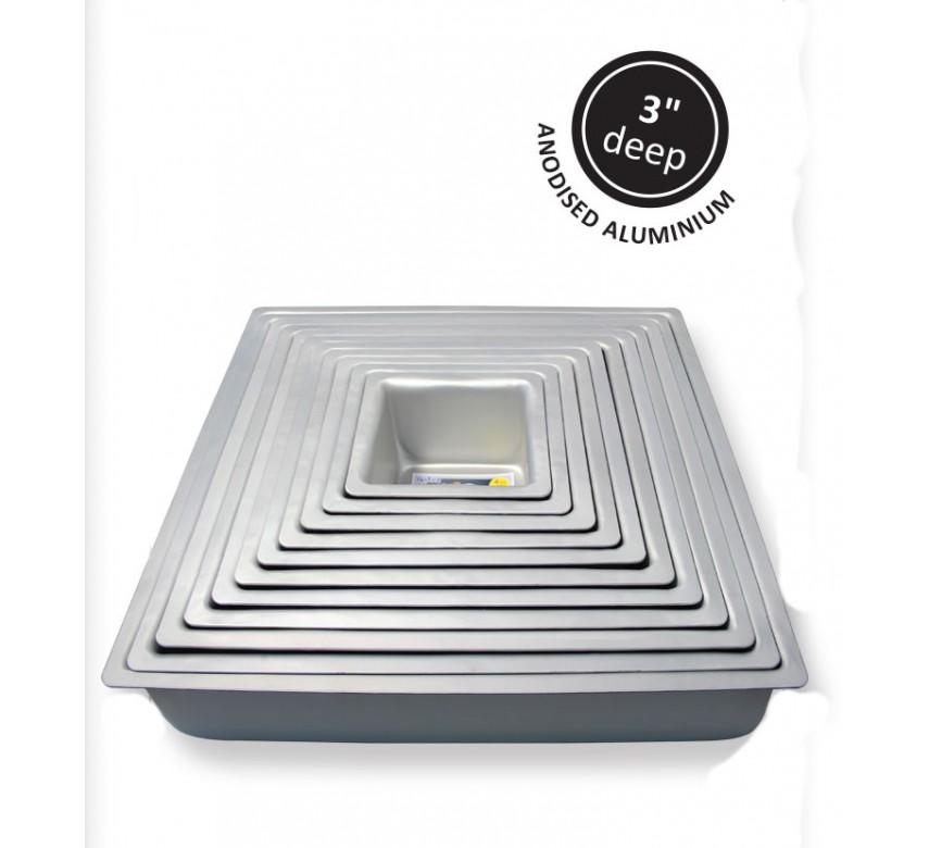 Kageform dyb 30,48 x 30,48 cm, kvadratisk, PME