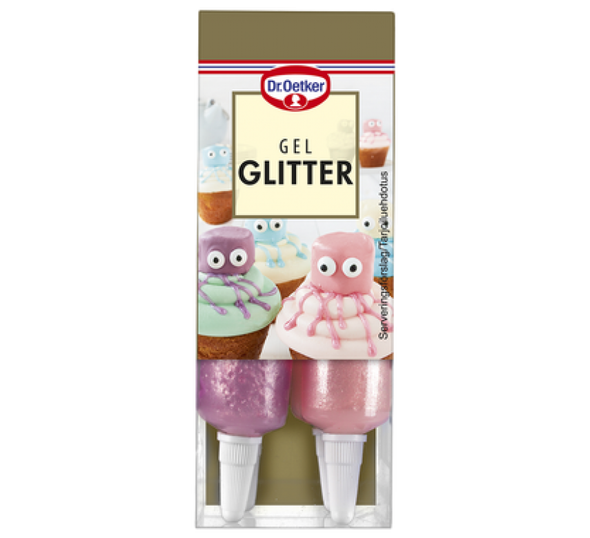 Gel Glitter, Dr. Oetker