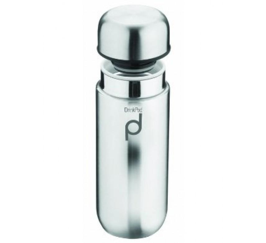 Termoflaske DrinkPod i stål. 0,2 l.