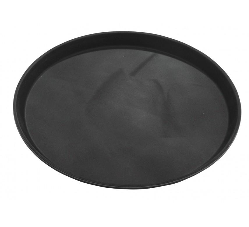 Tjenerbakke i sort 35 cm