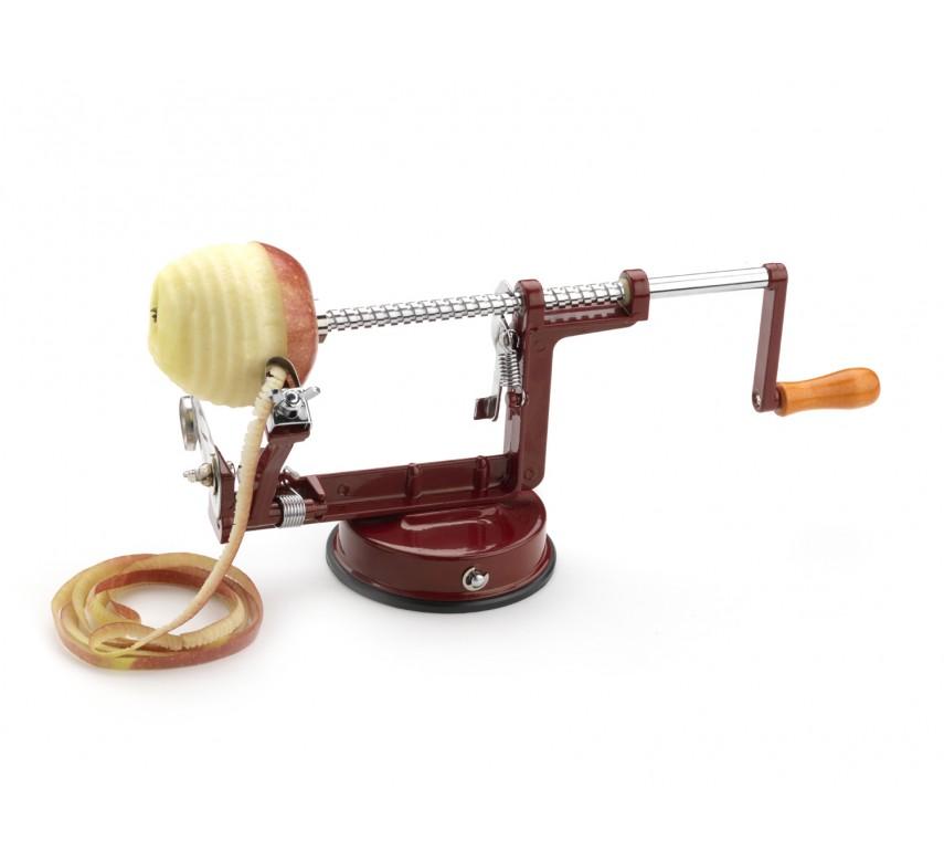 Æble skrællemaskine, rød
