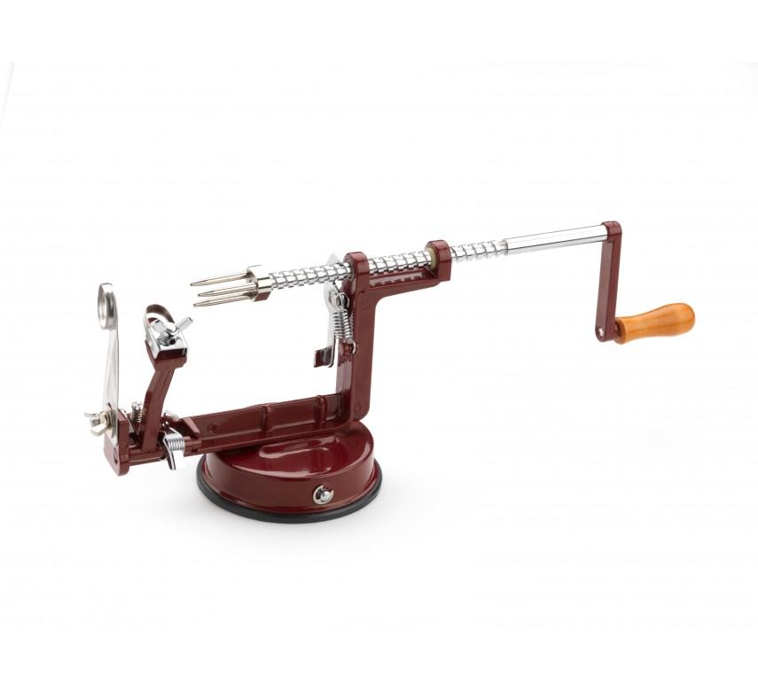 Æble skrællemaskine, rød-0