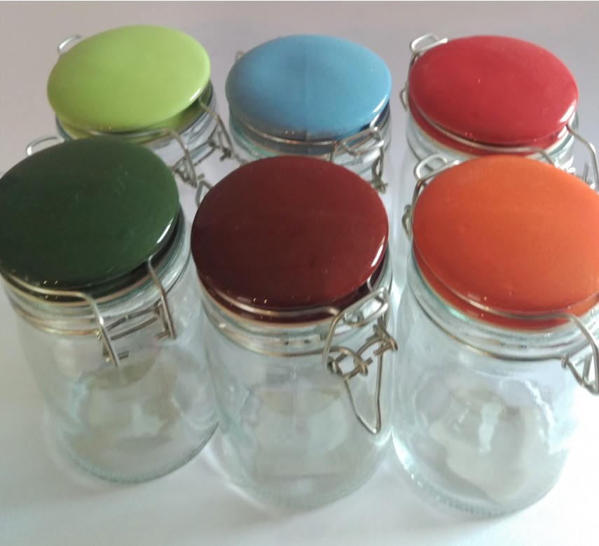 Opbevaringsglas med patentlåg