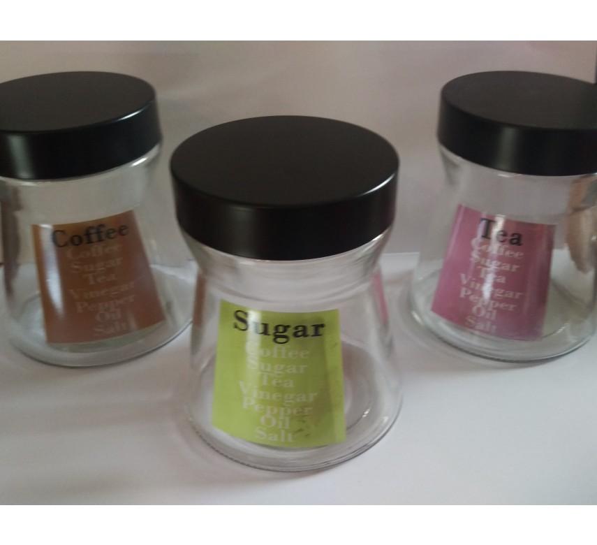 Opbevaringskrukke i glas
