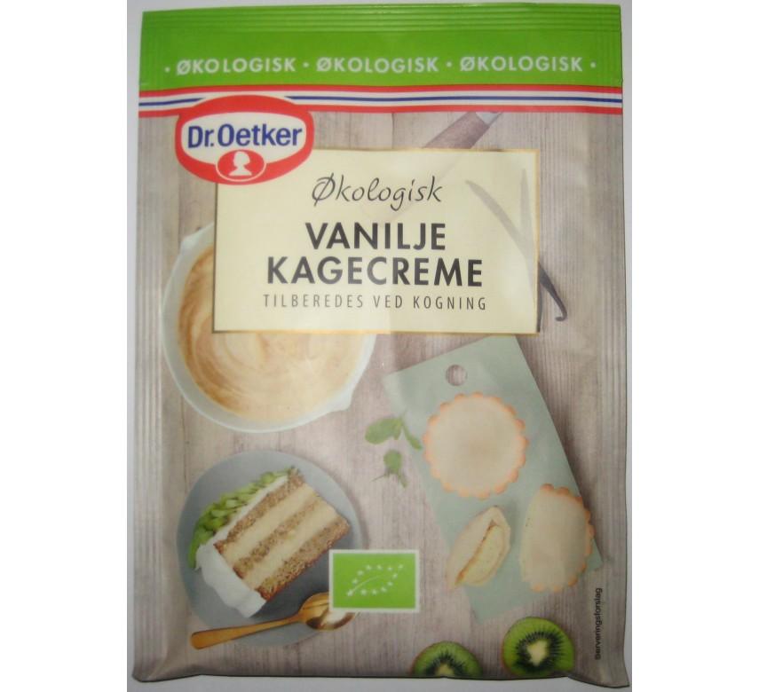 Vanilje kagecreme, Økologisk, Dr. Oetker