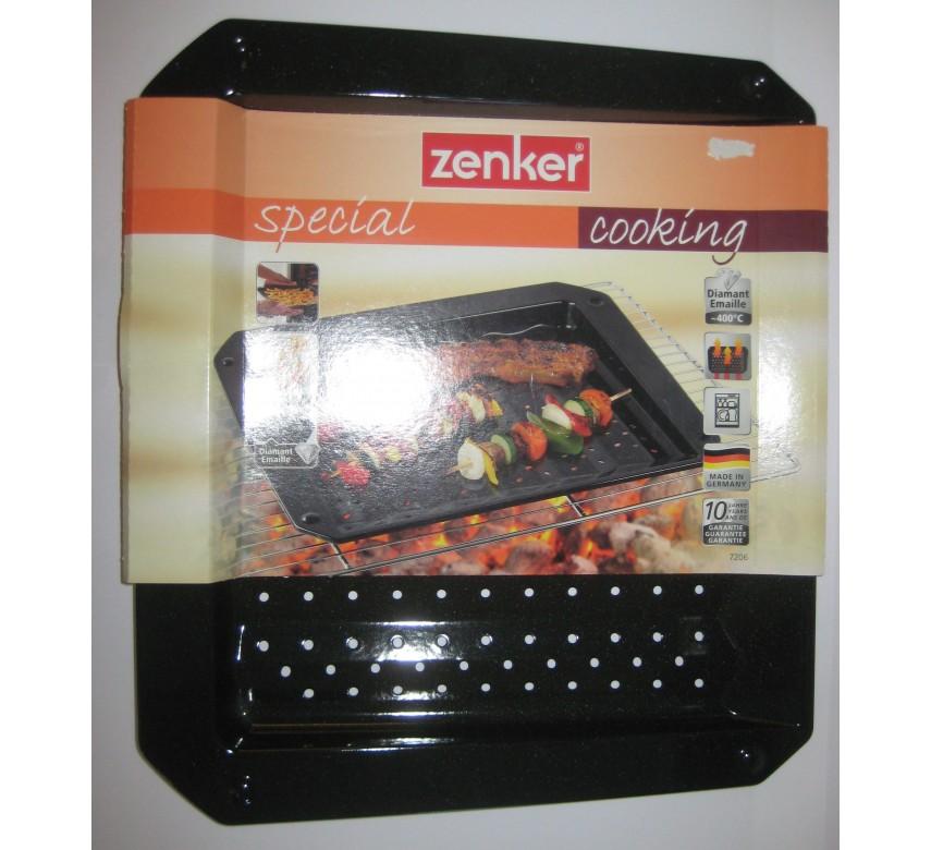 Bradepande til grill og ovn. 38x33x3 cm, Zenker