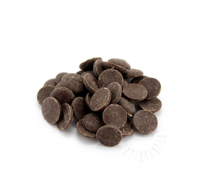 Chokolade, mørk, 57,9 %, Callebaut 2815, 500g.